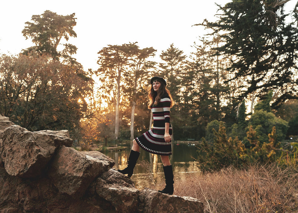 How To Wear The Fall Sweater Dress