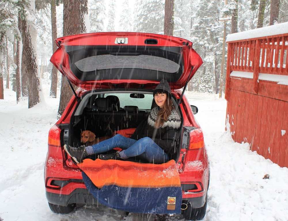 A winter Roadtrip in Mitsubishi's Outlander Sport
