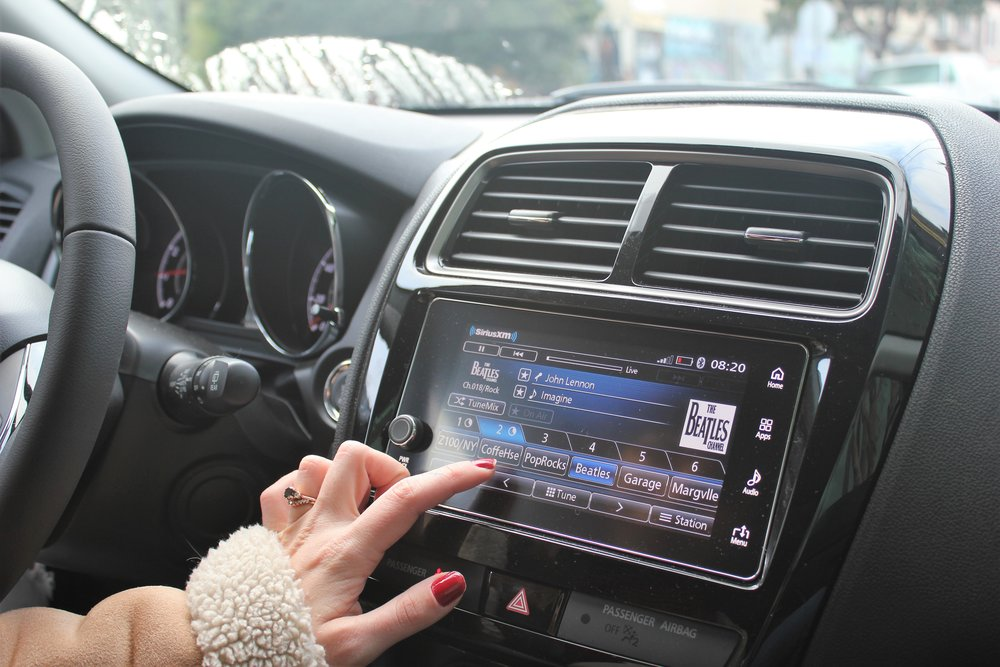 Sirius XM in the NEW Mitsubishi Outlander Sport