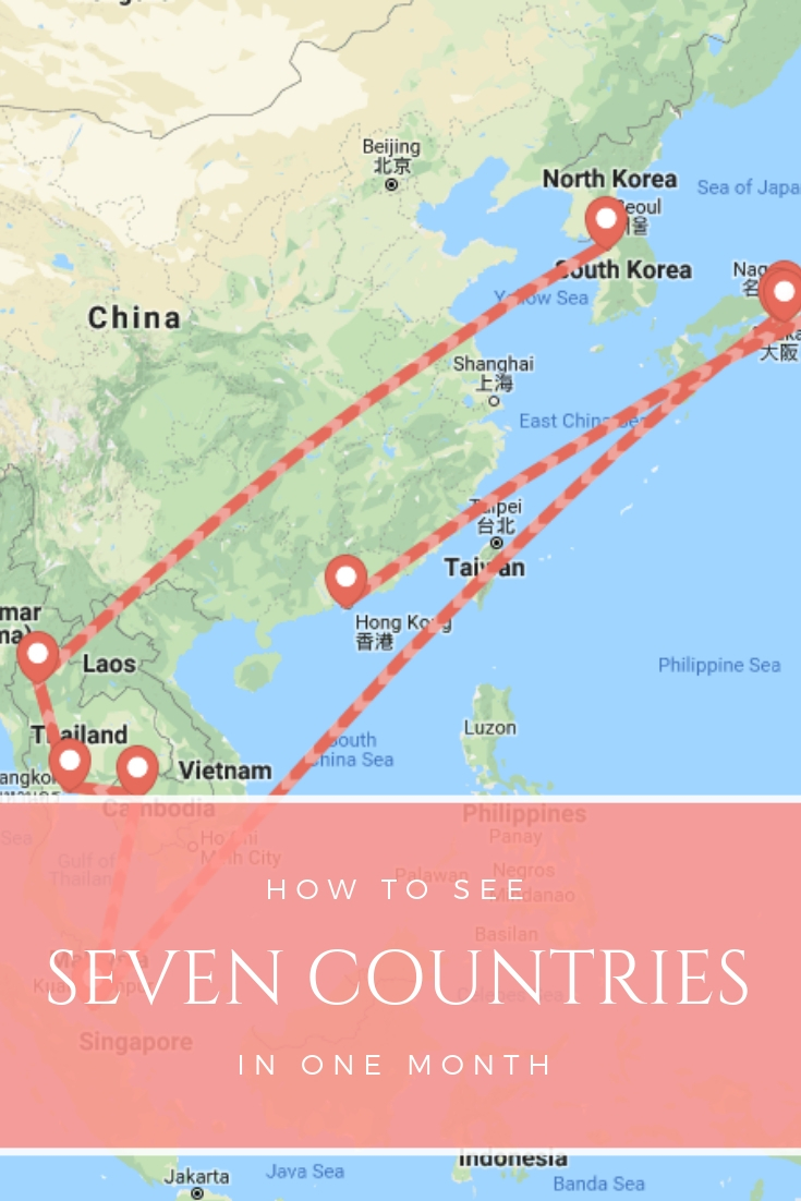 How To Travel Seven Countries in A Month