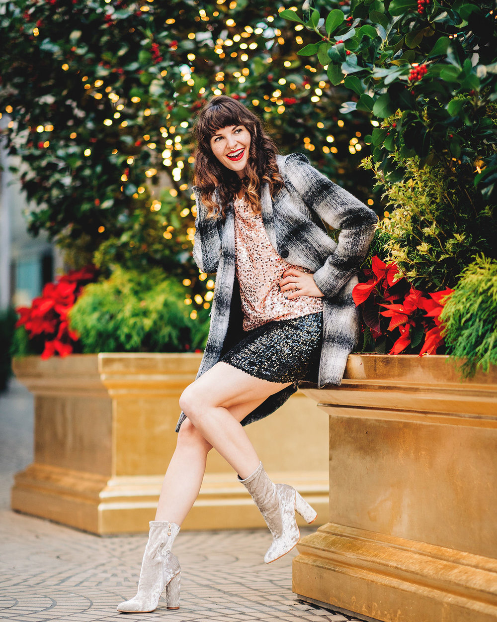 Festive Holiday style with SF blogger Que Sera Sahra
