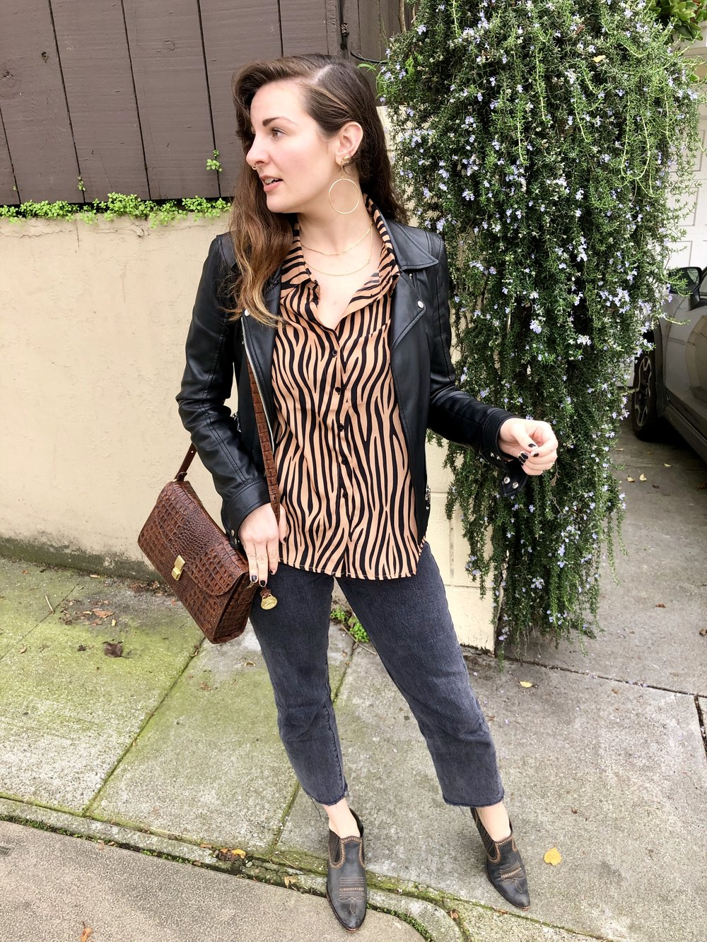 Tiger Stripe Amazon Fashion blouse