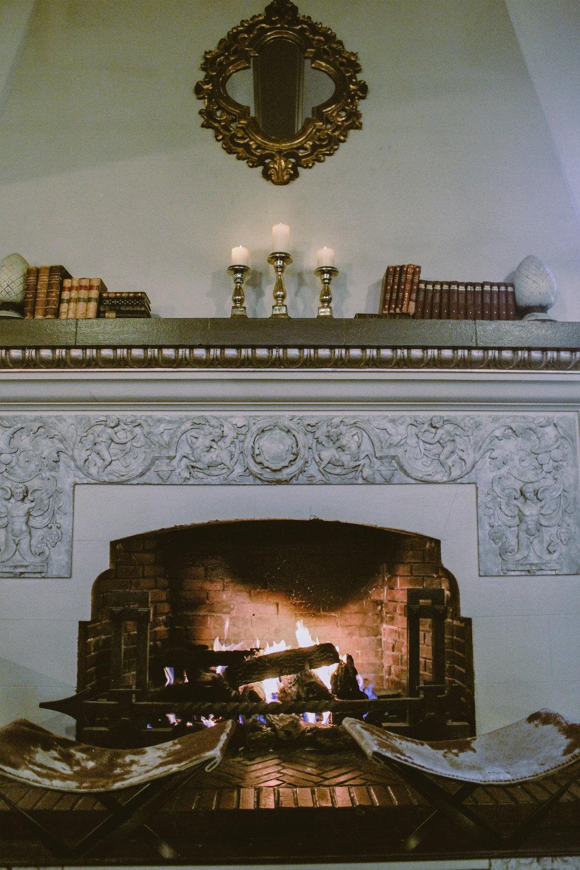 Hotel Petaluma Fireplace
