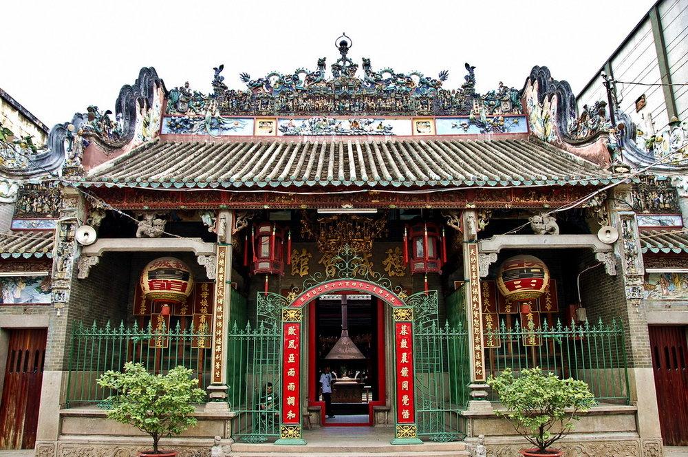 Saigon City Tour - Chinatown - Temple