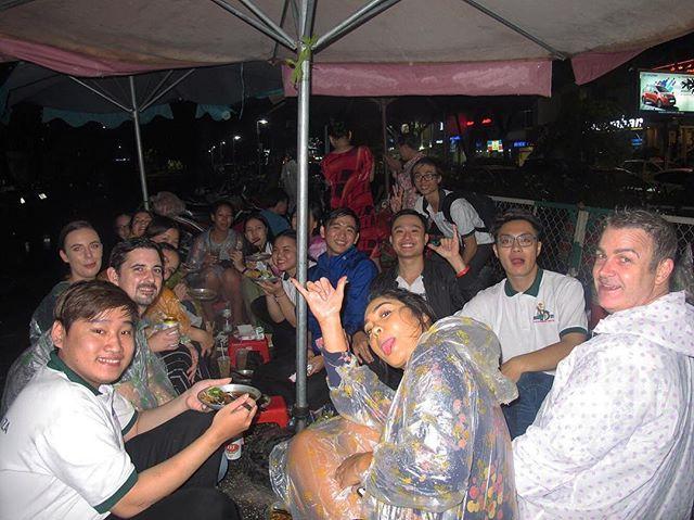 Rain can't even stop us 🛵🍴🌧 #rainyseason . . . . . #saigonextravaganza #vietnam #saigon #hcmc #hcmcity #vietnamese #vietnamtravel #travelblogger #digitalnomad #lovetotravel #passionpassport #lifewelltravelled #travelbug #travellife #travelgram #exploringtheglobe #globetrotter #travel #instatravel #wheninnam #passportready#foodtour #foodcoma #motorbiketours #motorbikefoodtours