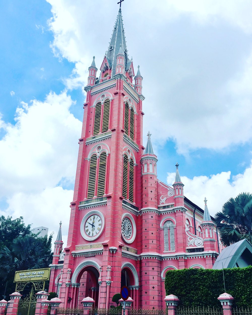 Saigon Extravaganza Pink Church