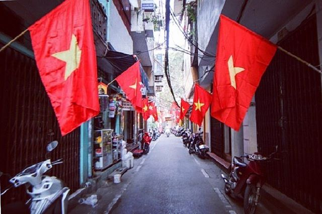 September 2, 2017 Happy Vietnam National Day 🇻🇳❤️ Drive safe🛵, eat good🍴and 🍻 drink responsibly ✅✅✅
