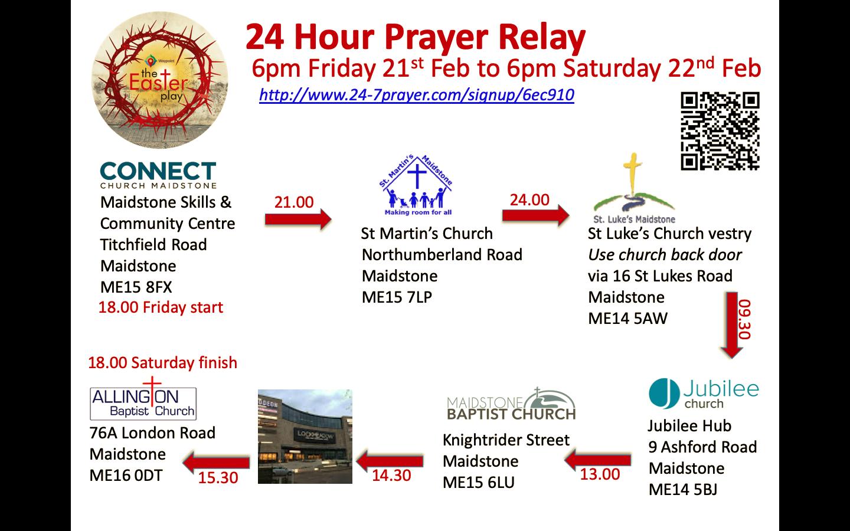 Line hour prayer 24 24 Hour