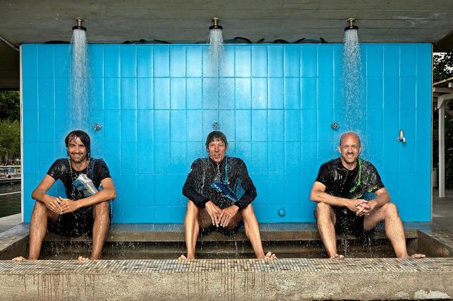 Das On Gründer Trio.