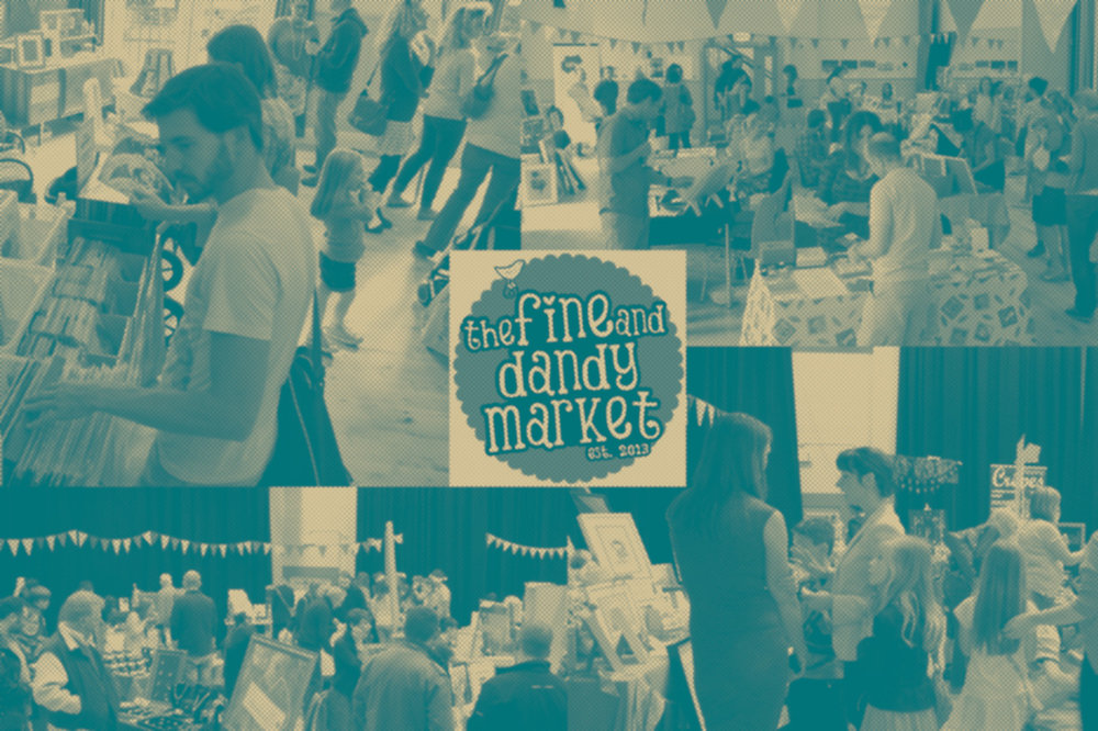 Fine and Dandy August Craft Month Market & Demo Day - 11.30am 20/08/2017 @ Crescent Arts Centre, Belfast