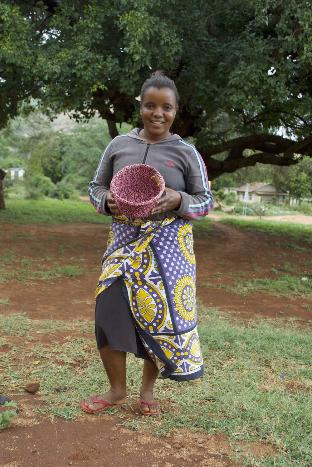 """I was born in Marungu. Being a mother and being able to provide for my family brings me a lot of joy. My biggest hope and aspiration is that we can get a lot of customers for our product.""""  Joyce, Rukanga"""