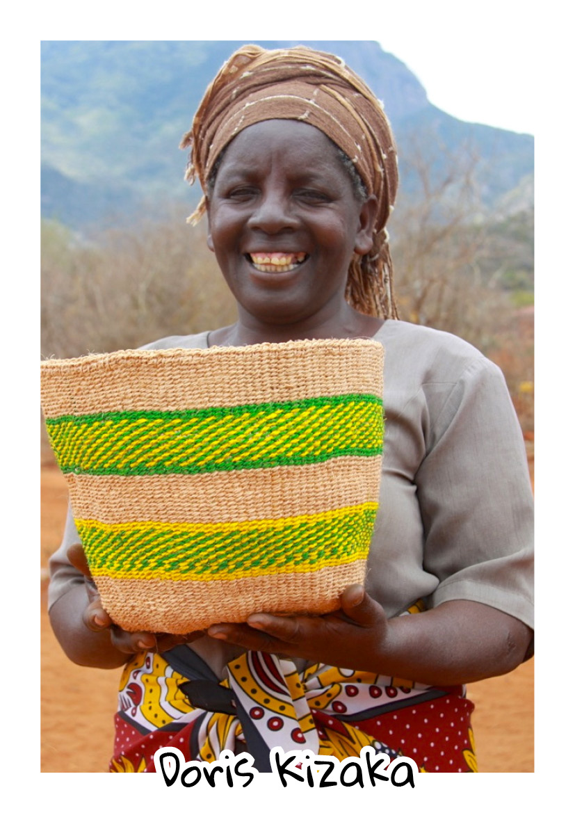 """""""It is hard to share sad stories from the past as you try to move on, and the people around me have motivated me to do so. I lost my husband in 1990, and my mother in 2014. God has helped me through hard times, and his love makes me happy everyday."""" -  Doris Kizaka - Kiteghe Group"""
