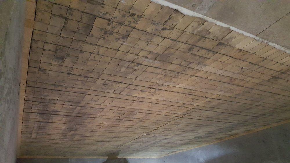 Aluminum Melter Roof Rebrick