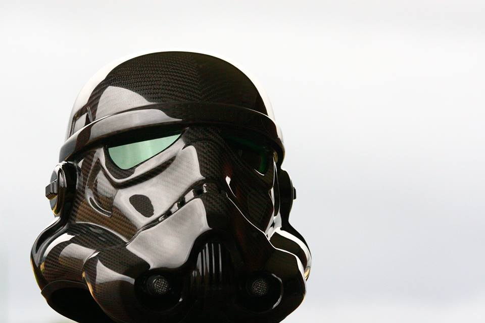 Carbon Fibre Trooper Helmet