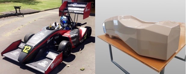 Automotive and Aero - KABER has extensive experience in producing precision patterns for cars and aircraft.KABER is proud to provide ongoing sponsorship for several Australian Formula SAE teams assisting with pattern making and composites.