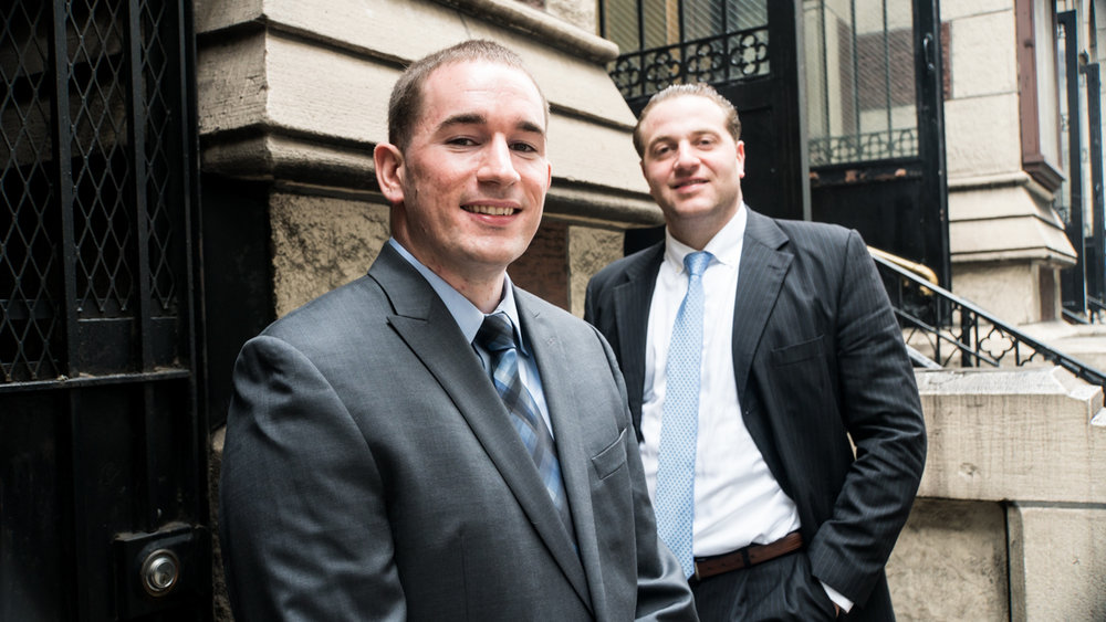 (Left to right) Tyler Russell and Arthur J. DaPonte.