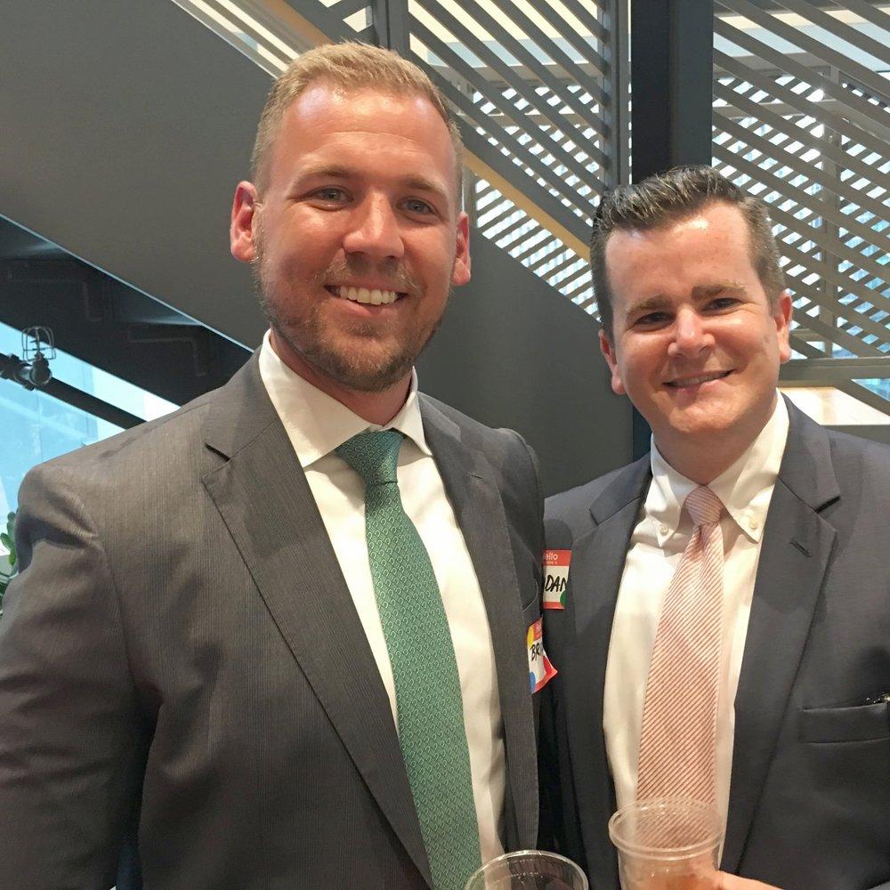 Brian Glavotsky, CPA (left)