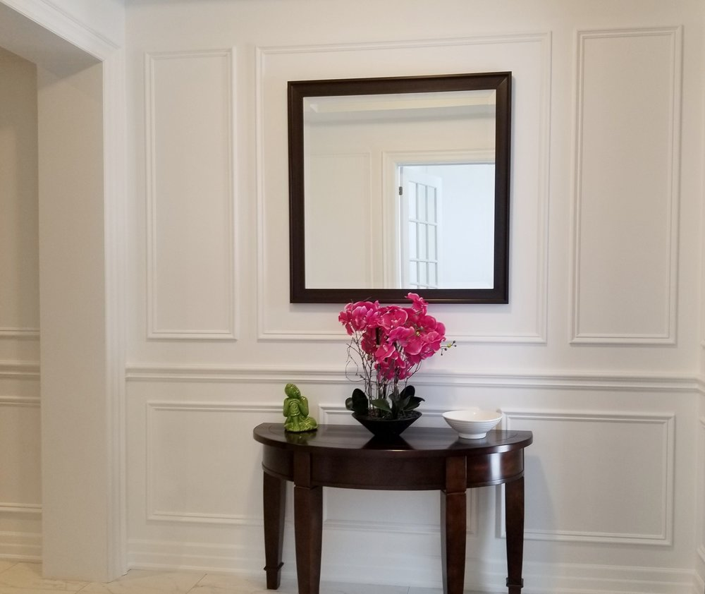 Wainscoting -