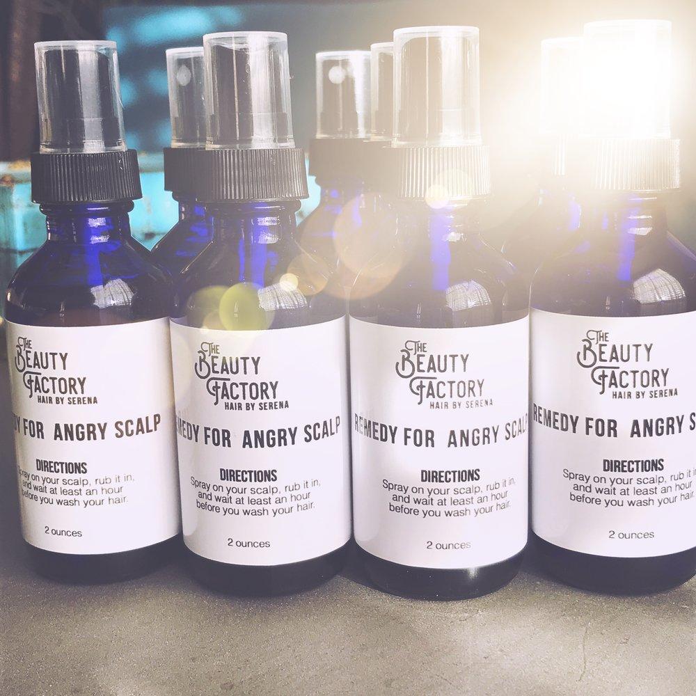 Organic Scalp Spray