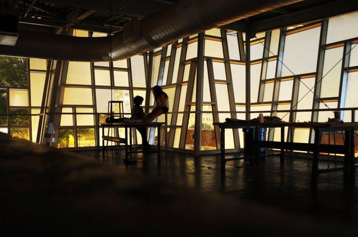 2011 - Metz's studio spaces
