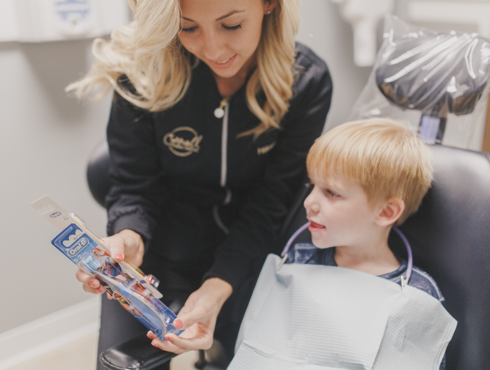 Build positive experiences early with dental care your children will enjoy