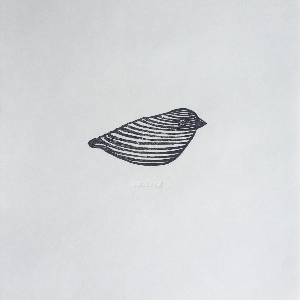 Netsuke - Wood Bird