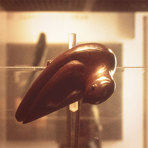 Netsuke - Bird of Prey Signed Moei (Nakaōji Moei)