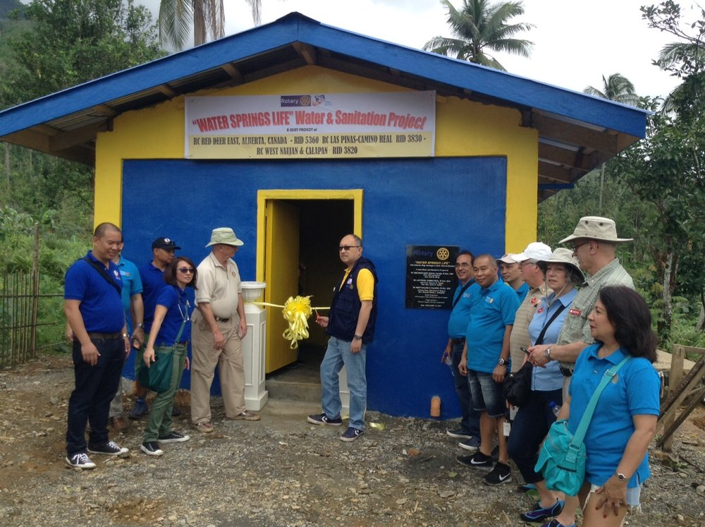 We have teamed up with Rotary Club Red Deer East and Rotary Club of Las Pinas Camino-Real to work together on 3 separate projects.  -
