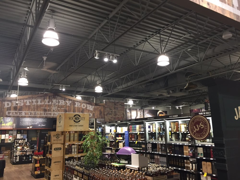 Wine and beyond, southgate, - full interior