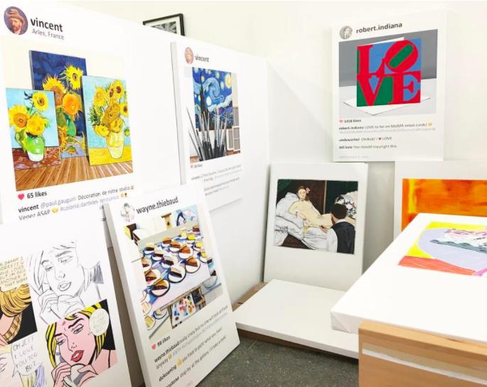 Artist' studio, courtesy of the artist