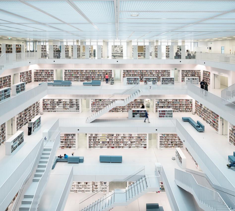Open Space, City Library. Stuttgart (2014)