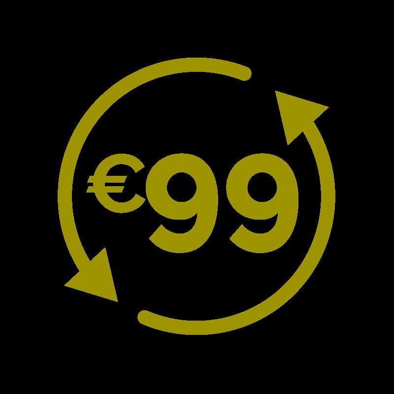 All-in voor altijd € 99,-