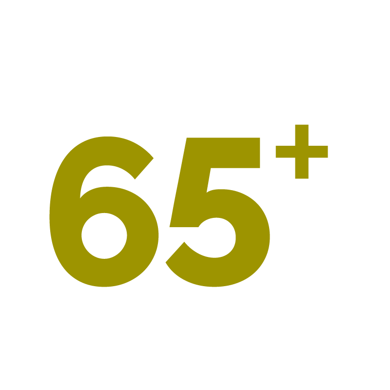 Gelijkgestemden, altijd 65+