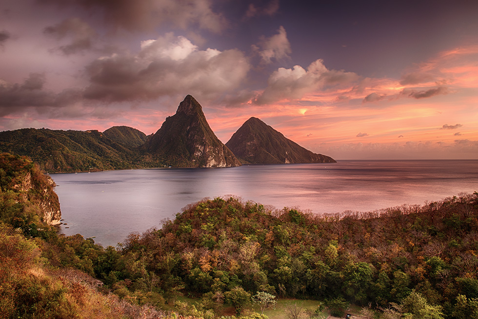 Pitons at sunset DP.jpg