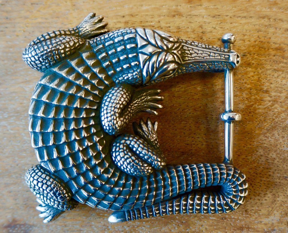 Classic Alligator Buckle