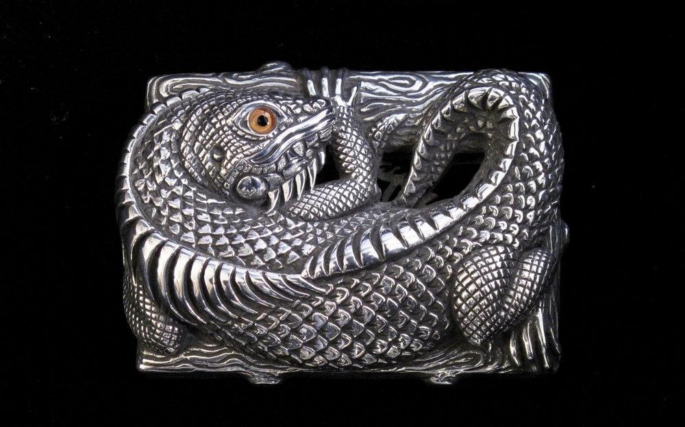 Isaac Iguana Buckle
