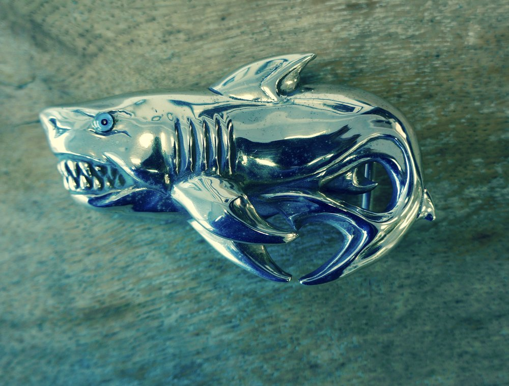 Sharkey Shark Buckle