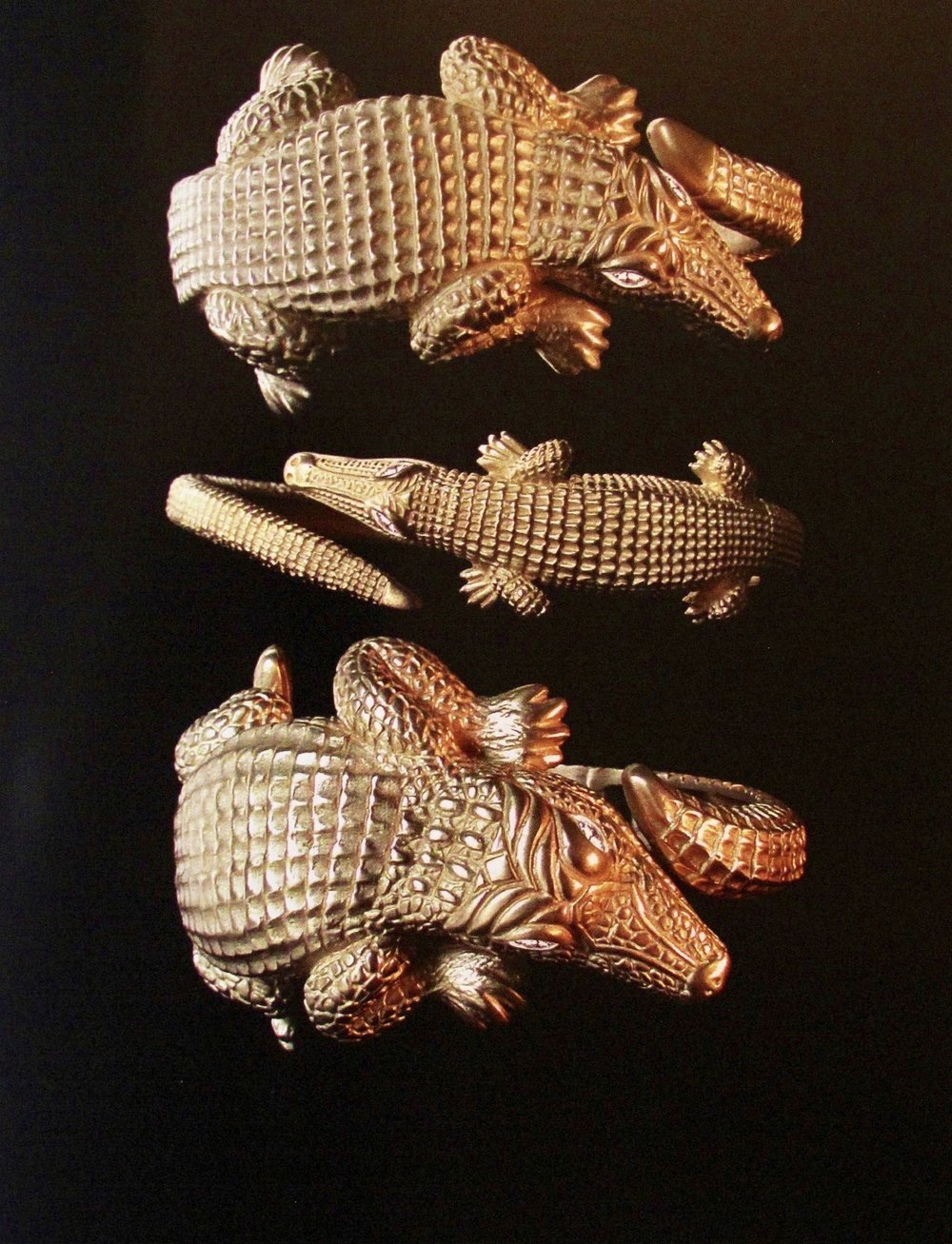 KC Classics Alligator Cuffs