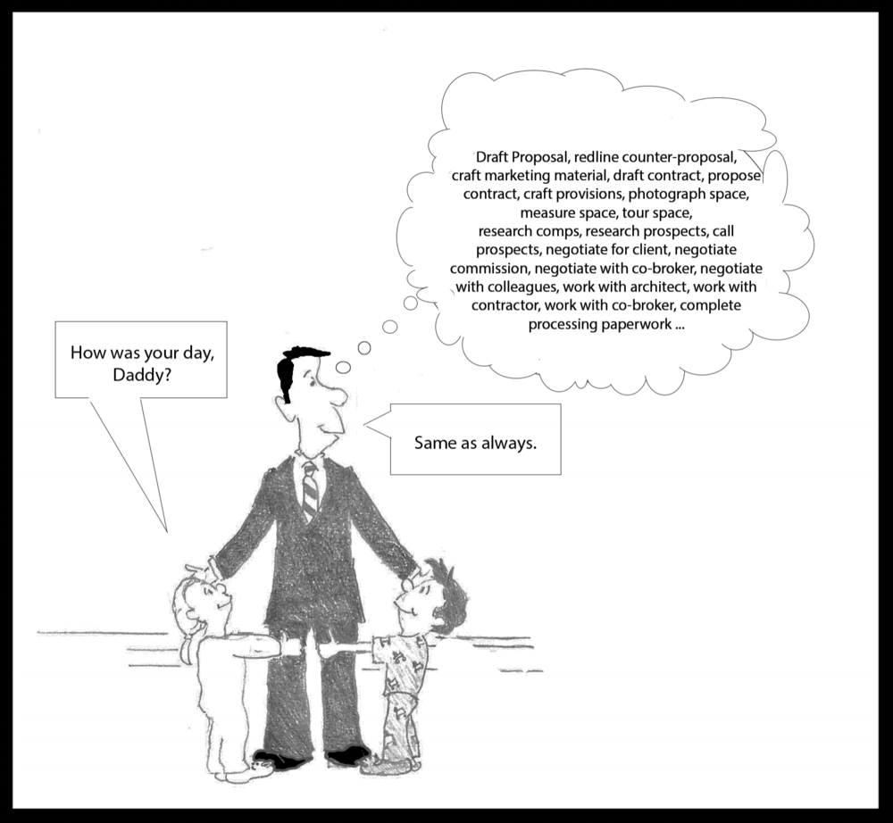 commercial real estate software cartoon
