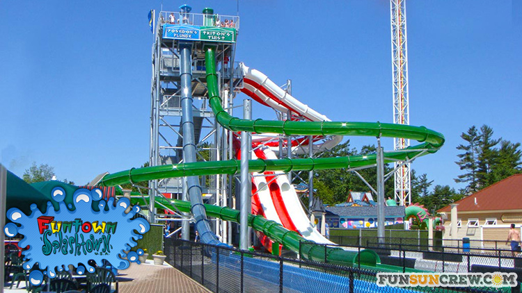 Best water parks in New England - Water parks in Maine - Funtown Spalshtown USA Saco ME - funsuncrew.com