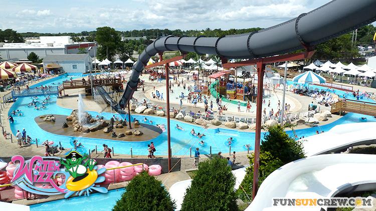 Best water parks in New England - water parks in Massachusetts - Water Wizz waterpark - funsuncrew.com