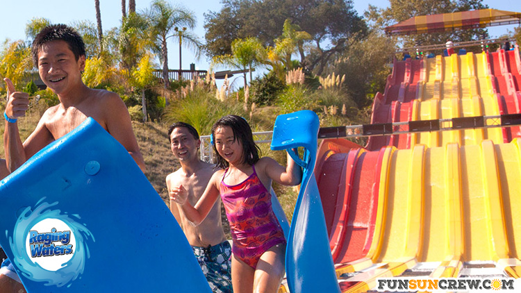 Best water parks in California - Raging Waters Sacramento - funsuncrew.com