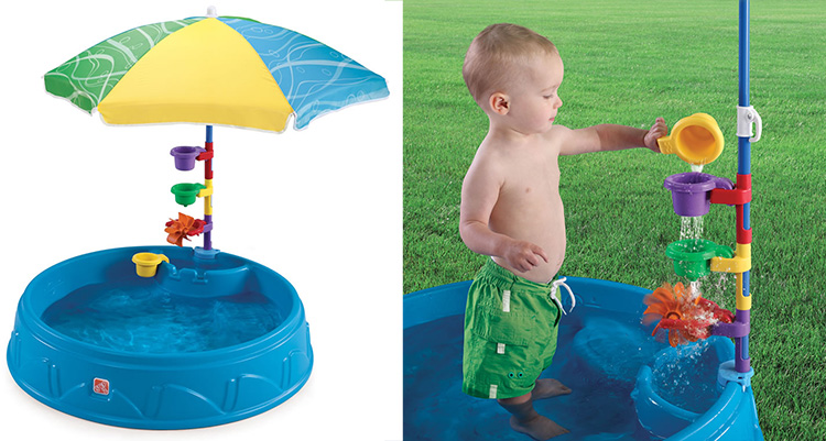 Best Pool For Toddlers - Play2 Play and Shade Review - funsuncrew.com