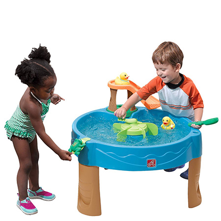 Best water toys for toddlers - Outdoor water table for toddlers - funsuncrew.com