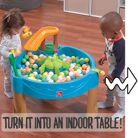 Best water toys for toddlers - Outdoor water table for kids - funsuncrew.com