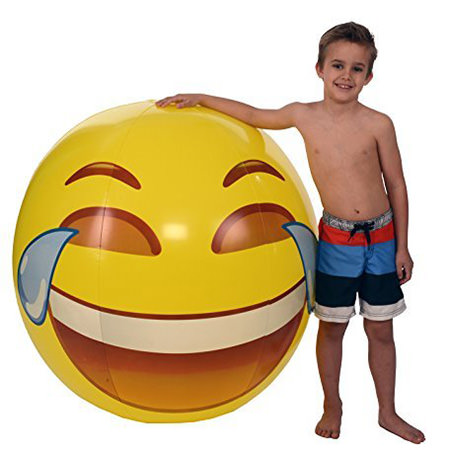 Emoji pool toys - Emoji Floats - Cool Emoji Pool Party Ideas for Kids and Adults