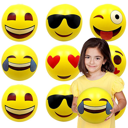 Emoji beach balls - Fun Emoji Pool Party Ideas for Kids & Adults