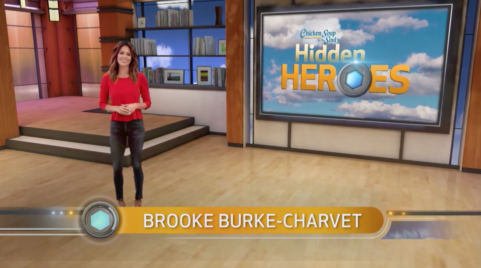 HIDDEN HEROES, hosted by Brooke Burke-Charvet, is a hidden camera television show developed for teens in which each episode reveals the widespread goodwill in our world by secretly capturing heroes in action as they demonstrate acts of kindness, compassion and commitment to others. Highlighted by funny, light-hearted moments, the show shines a bright light on everyday people who selflessly share their positive attitudes towards society and life with others by doing good deeds. CURRENTLY ON CBS