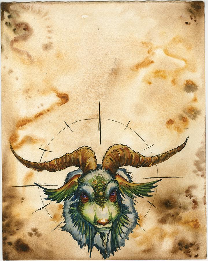 Capricorn Facing Page