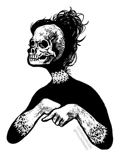 skull-lady